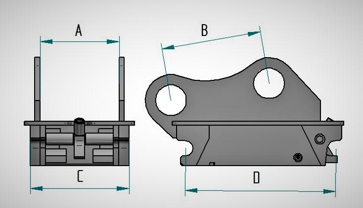 KI S-45 mõõtudega kõrvadega
