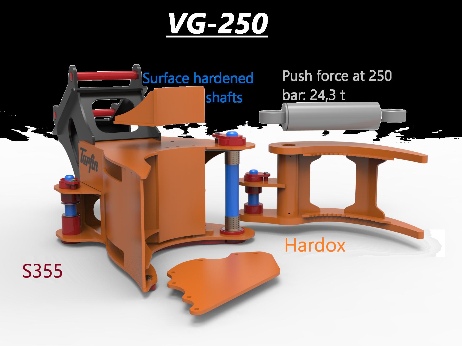 VG-250materjal inglise